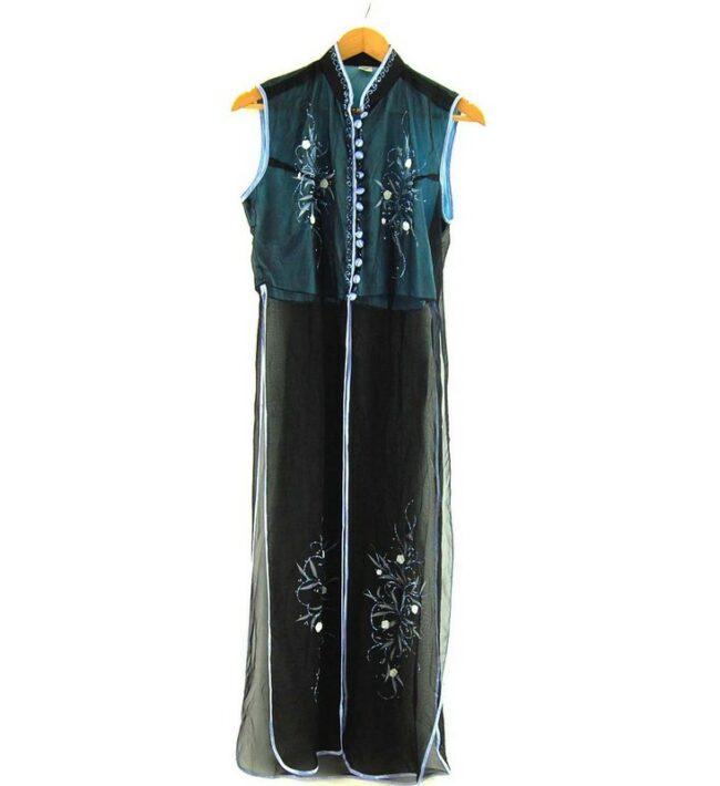 Black Ao Dai Vietnamese Dress