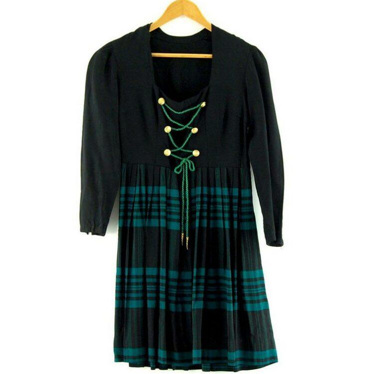 50s Austrian Dirndl Dress