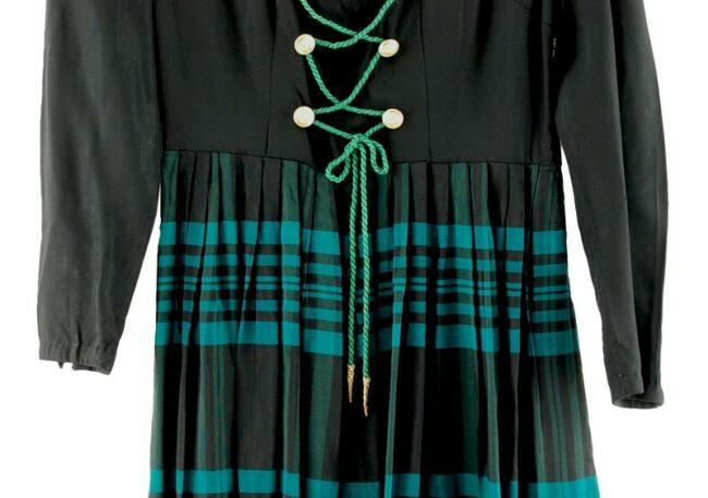 Front of 50s Austrian Dirndl Dress