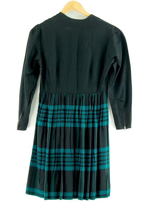 Back of 50s Austrian Dirndl Dress