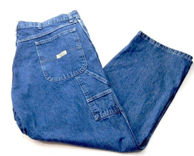 Blue Denim Wrangler Carpenter Pants