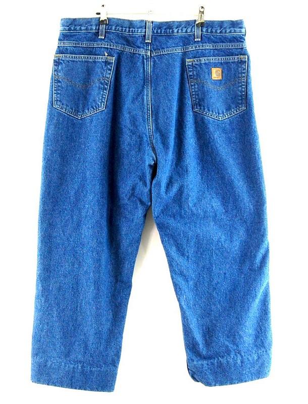 Back of Carhartt Denim Carpenter Jeans