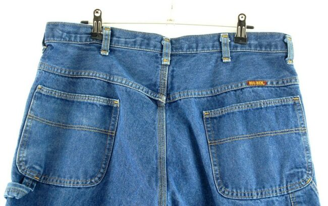 Back of Big Ben Denim Carpenter Pants