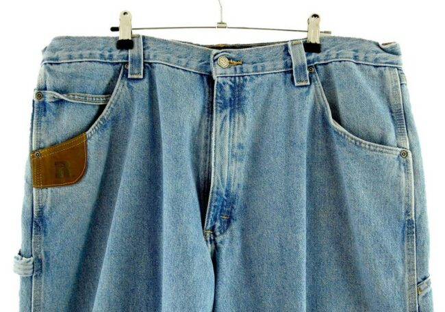 Close up of Wrangler Riggs Workwear Jeans