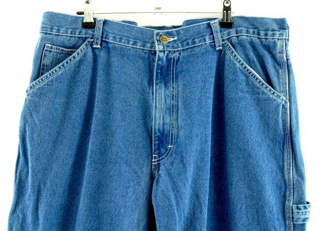 Close of Denim Work n Sports Carpenter Jeans
