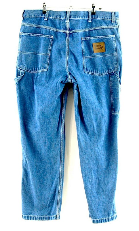 Back of Denim Work n Sports Carpenter Jeans