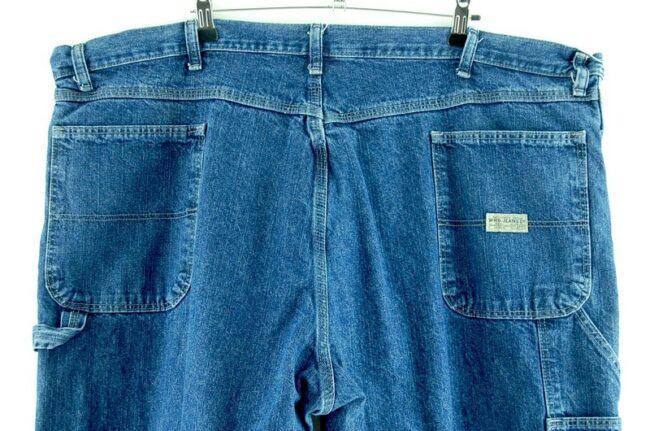 Back of Blue Denim Carpenter WRG Jeans