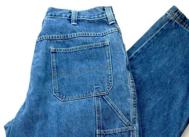 Back of 5 Pocket Old Navy Jeans