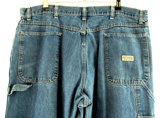 Back of WRG Denim Carpenter Pants