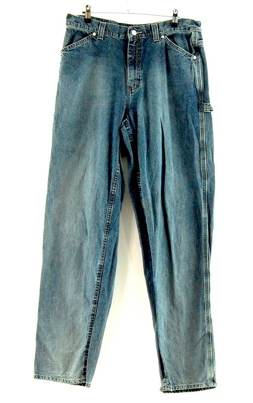 Front of Denim Carpenters Riveted By Lee Jeans