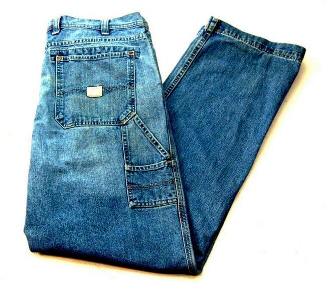 Five Pocket Denim Eddie Bauer Jeans