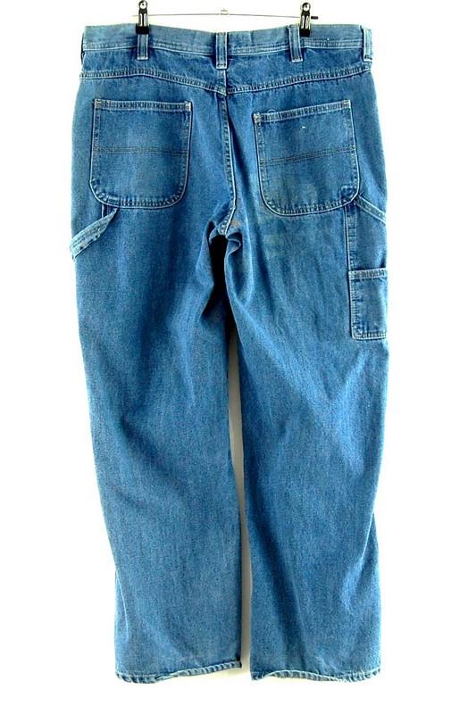 Back of Steve And Barry Mens Carpenter Jeans