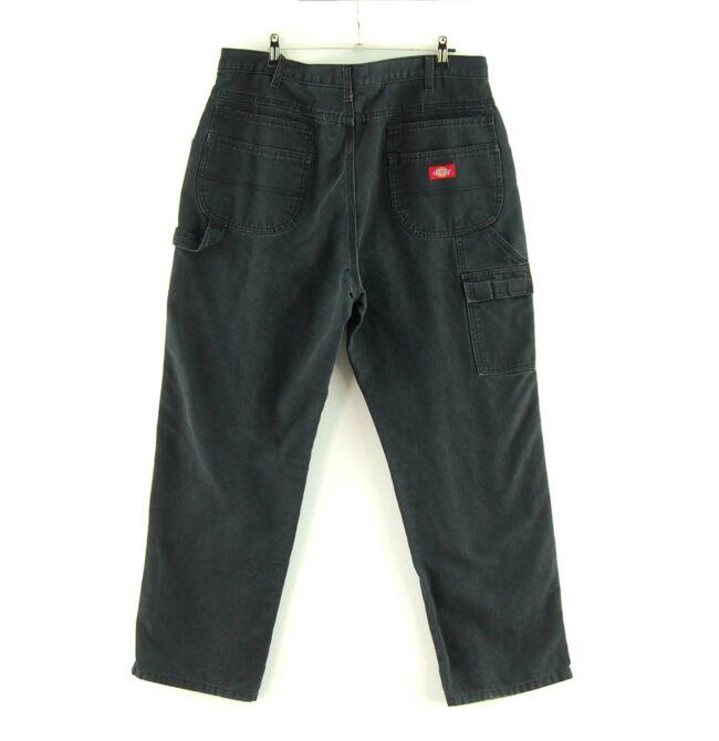 Back of Black Dickies Carpenter Jeans