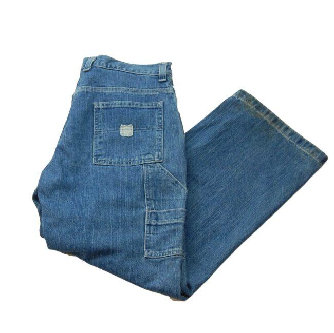 Blue Denim Faded Glory Carpenter Jeans