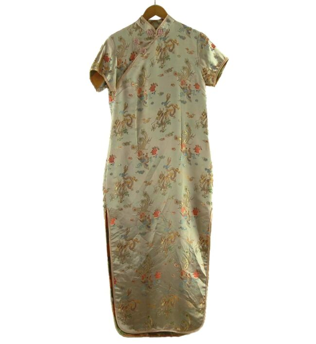 Gold Chinese Dress