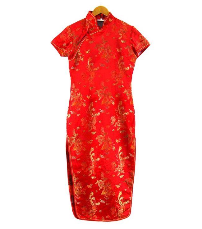 Chinese Satin Dress