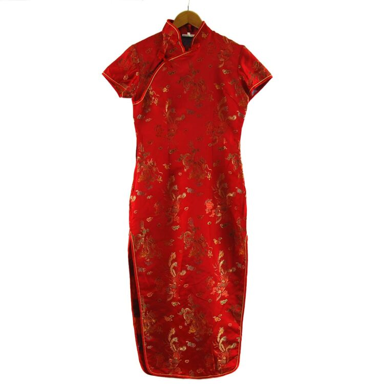 Chinese Floral Dress