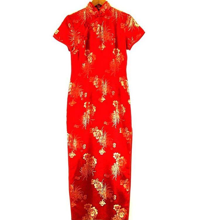 Chinese Evening Dress Cheongsam