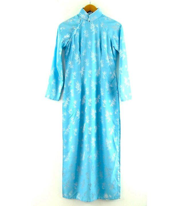 Blue Vietnamese Dress