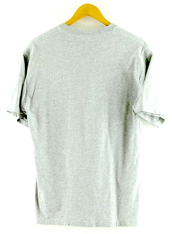 Back of Grey Frenship Baseball T Shirt