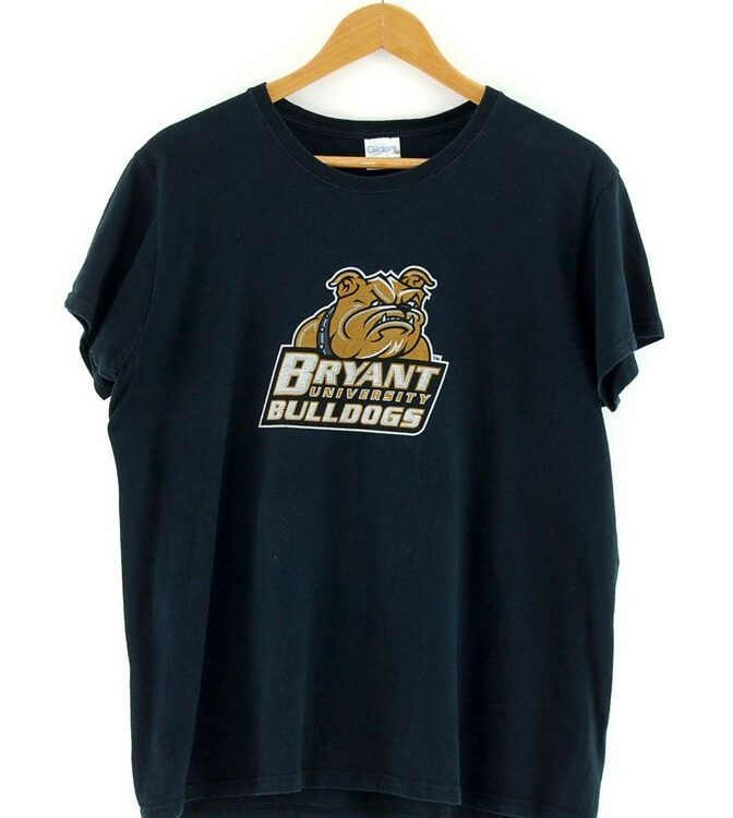 Black Bryant University Bulldogs Tee