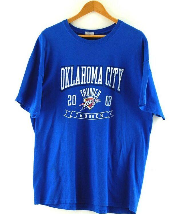 Blue NBA Oklahoma City Thunder Tee