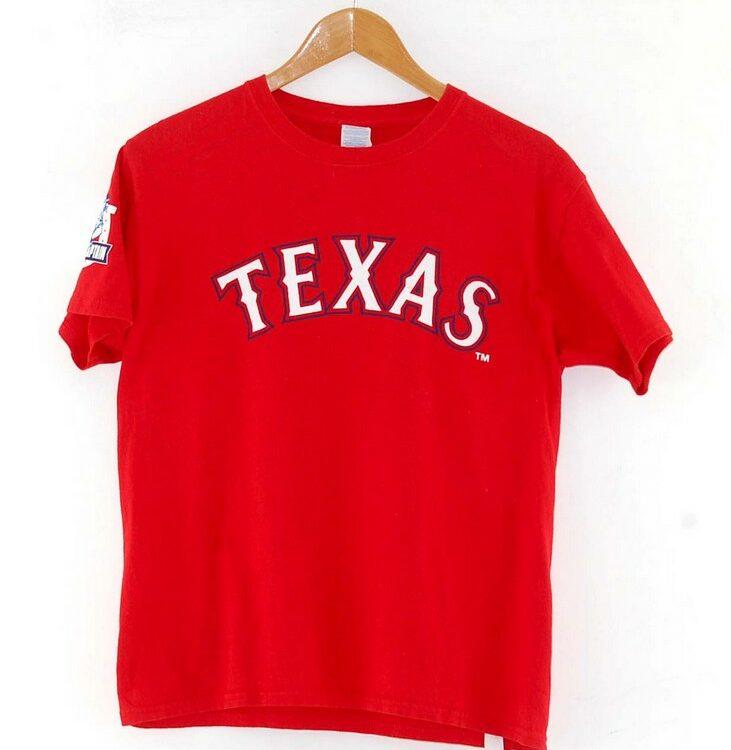 Red Texas Rangers Captain Tee