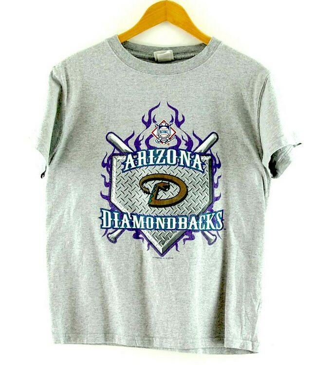 Grey Arizona Diamondbacks T Shirt