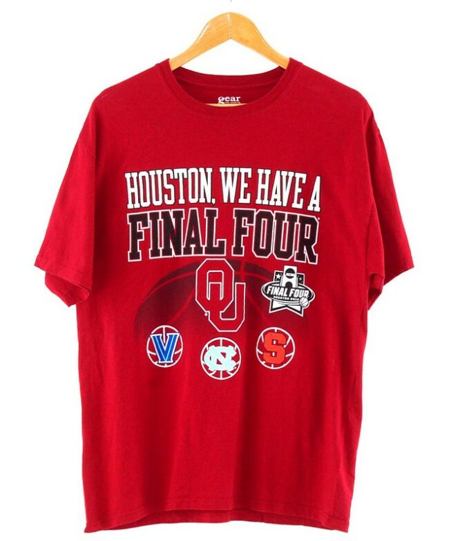 Red Houston Final Four Tee