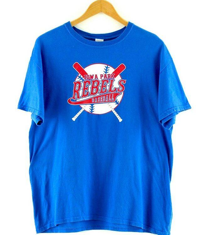 Iowa Park Rebels Baseball T Shirt Vintage