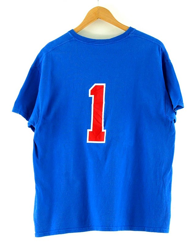 Back of Iowa Park Rebels Baseball T Shirt Vintage