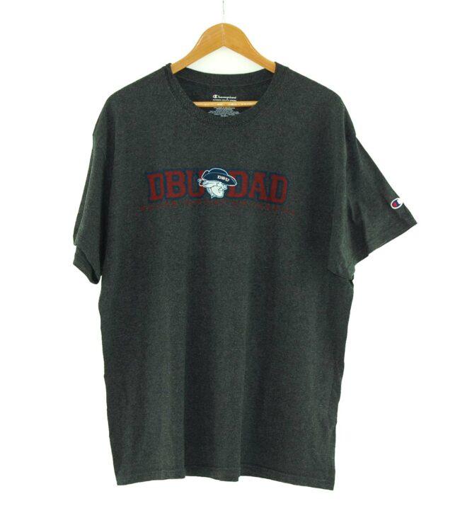 DBU Dad Dallas Baptist University Vintage Champion T Shirt
