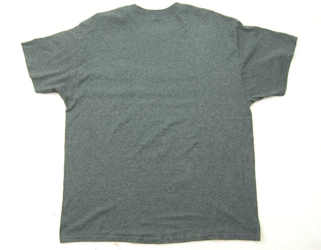 Back of DBU Dad Dallas Baptist University Vintage Champion T Shirt