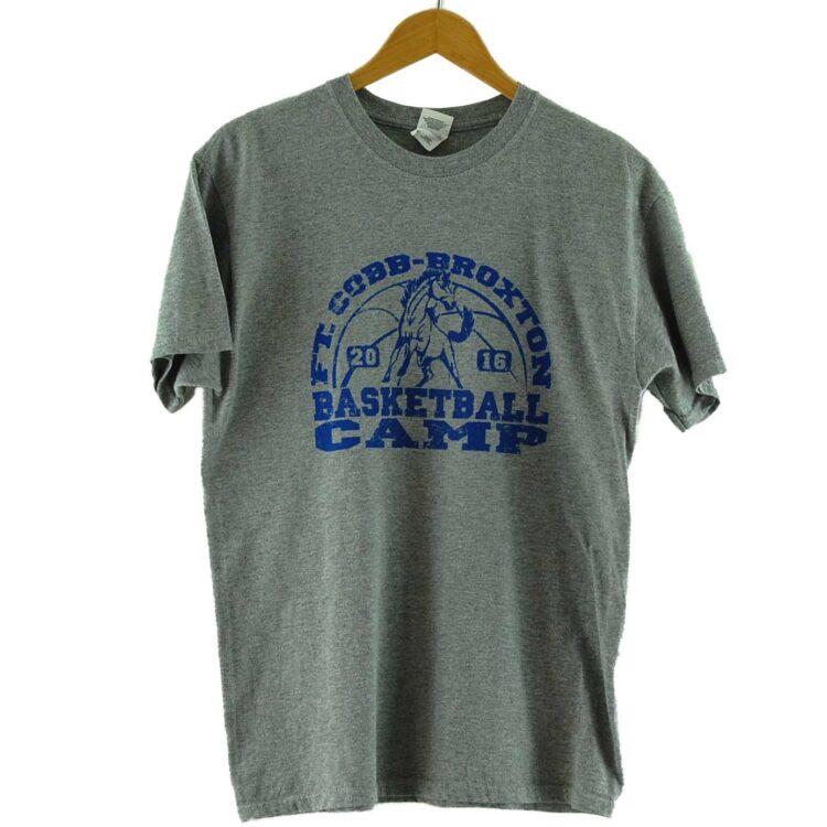 Broxton Camp Vintage Basketball T Shirt