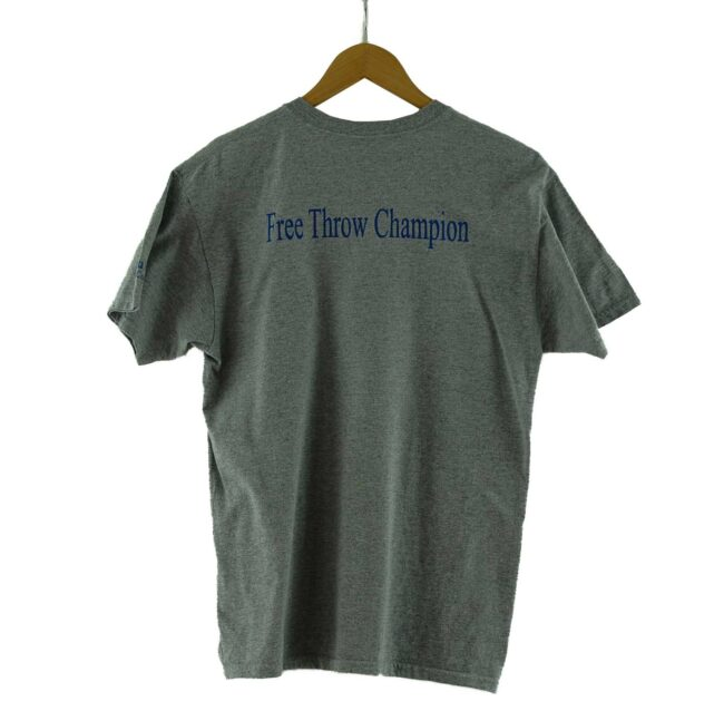 Back of Broxton Camp Vintage Basketball T Shirt