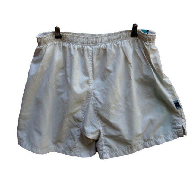 Back of White Nike Shorts Mens