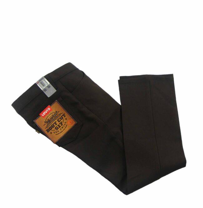 Brown 70s Levis Vintage Bootcut Trousers