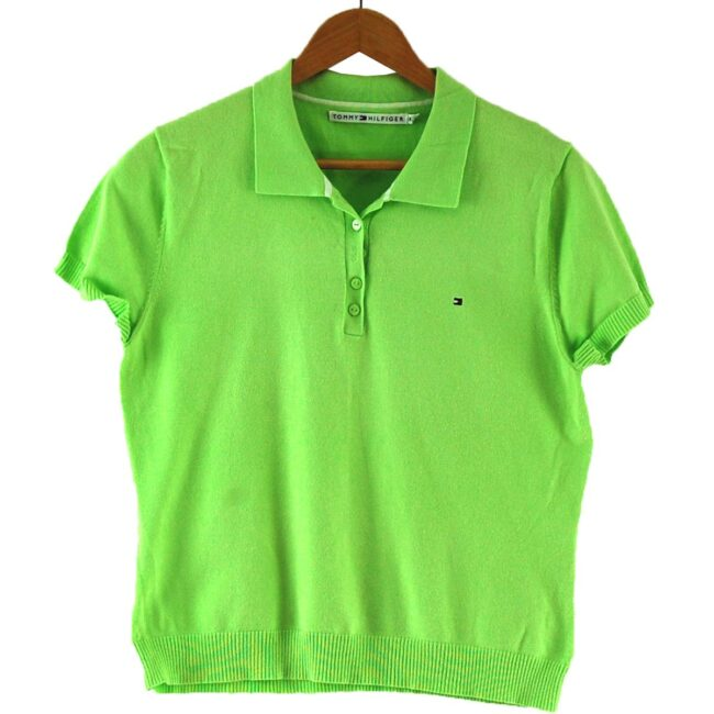 Lime Green Tommy Hilfiger Polo Womens