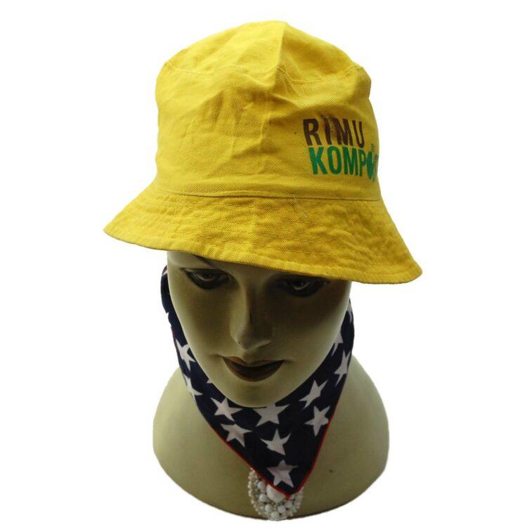 Yellow Rimu Kompost Bucket Hat
