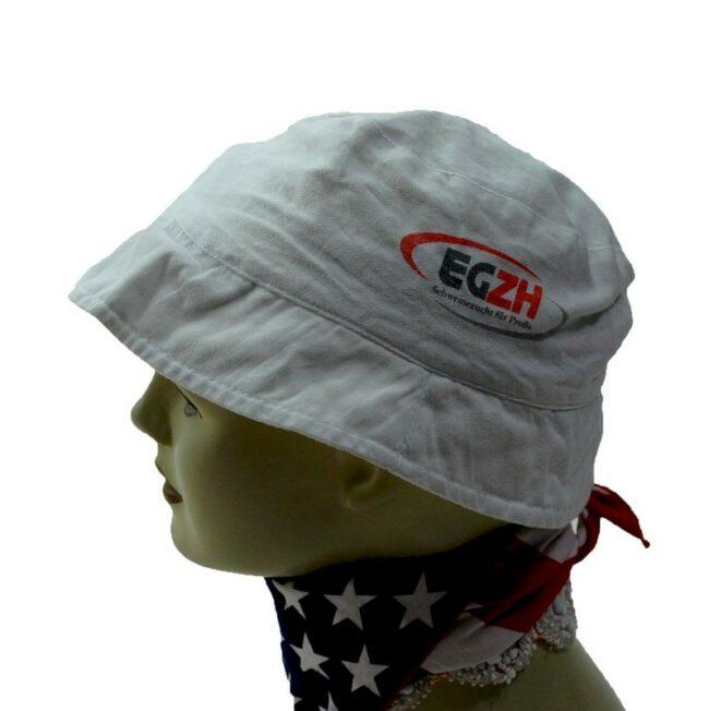 Side of EGZH Bucket Hat