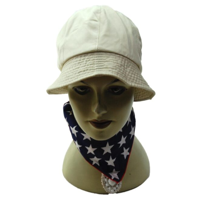 Nino Beige Bucket Hat