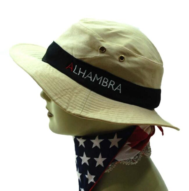 Beige Bush Hat