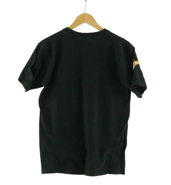 Back of Route 66 Mens Black Tee