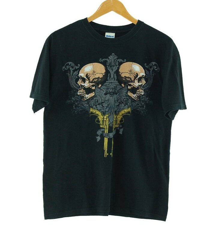 Mortal Sin Gildan Black Tee Mens
