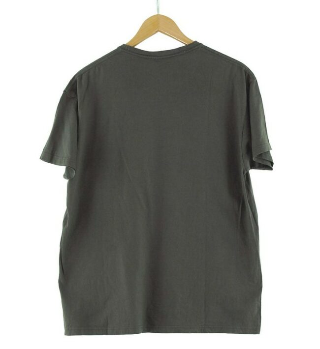 Back of Grey Graphic Tee Ane And Davidson