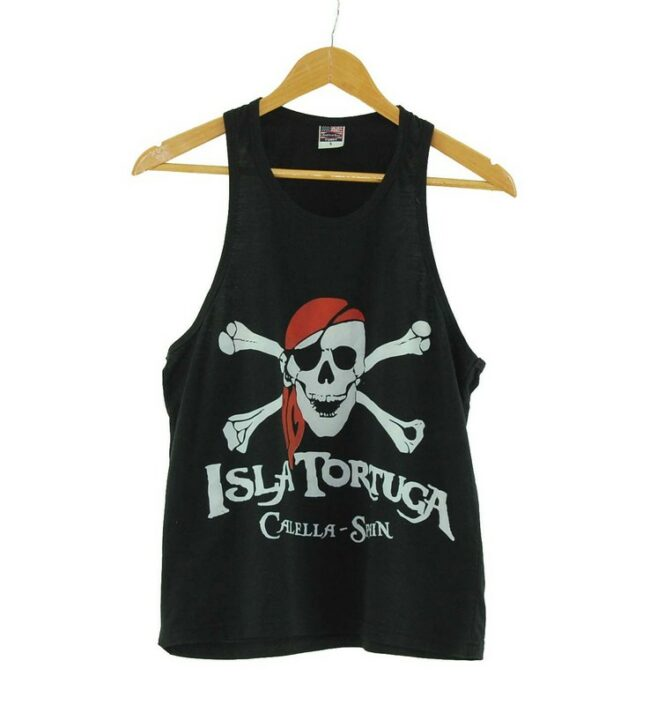 Torture Island Black Vest