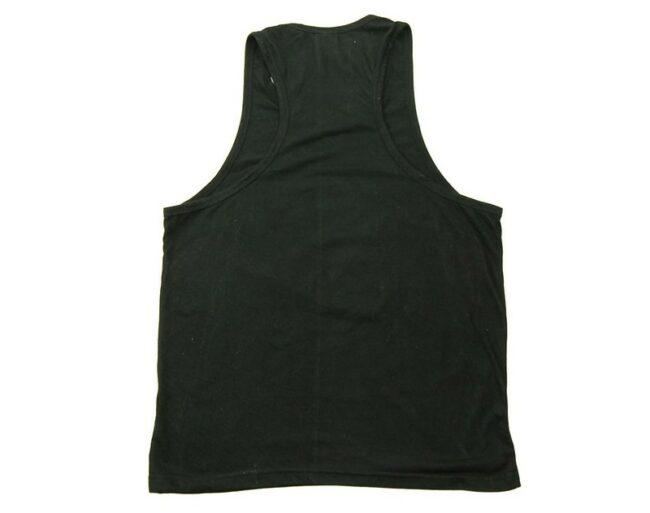 Back of Torture Island Black Vest