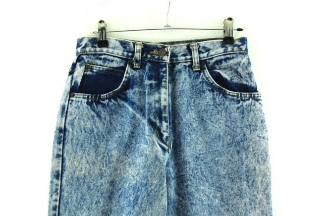 Close up High Waisted Baggy Jeans
