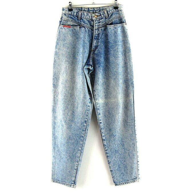 Chewan Blue Acid Wash Jeans