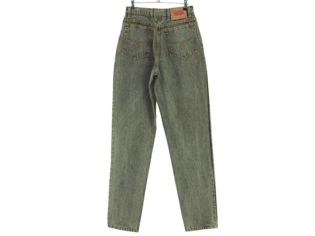 Back of Wallys High Waisted Jeans
